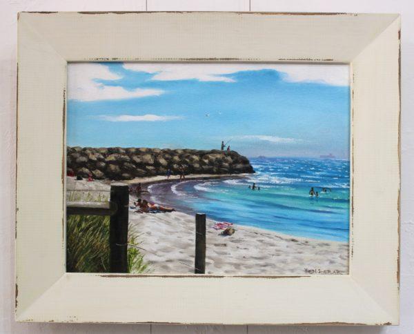 An original oil painting by Western Australian Artist Ben Sherar