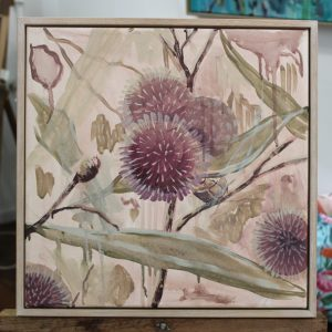 An original botanical artwork by Western Australian Artist Kiya Kalem
