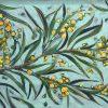 An original painting by Western Australian Artist Kiya Kalem depicting stunning native flora